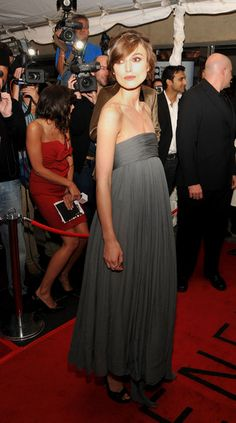 """Keira Knightley - Premiere Of """"The Duchess"""" - Arrivals - TIFF 2008"""