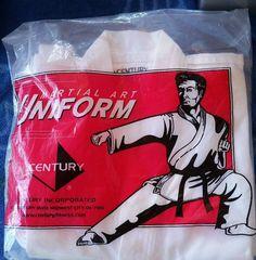 Century Martial Arts Lightweight Uniform White Size 00Cotton Polyester Brand New #Century