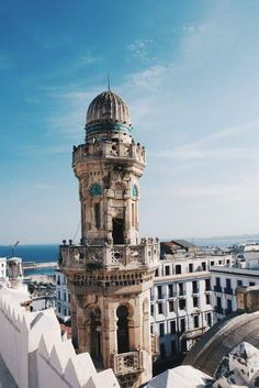 Ketchaoua Mosque in Algiers, Algeria. Algeria Travel, Africa Travel, African Countries, Countries Of The World, Beautiful World, Beautiful Places, Beautiful Mosques, French Colonial, Thinking Day