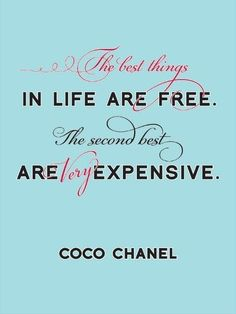 Citation du jour: coco chanel