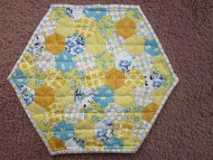 Quilted table centerpiece