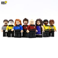 Star Trek: TNG LEGO Minifigures http://geekxgirls.com/article.php?ID=9478