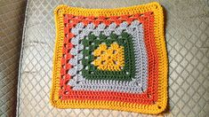Ravelry: Split Granny Square pattern by Joanita Theron Crochet Granny Square Beginner, Granny Square Blanket, Granny Squares, Crochet Shawl, Crochet Baby, Ravelry, Knitting, Pattern, Hooks