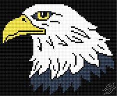 Eagle - Free Cross Stitch Pattern
