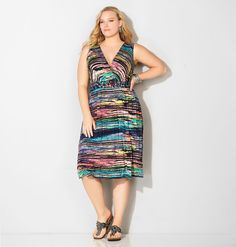 Find new, summer flip flop dresses for barbeques or casual weekends like the plus size Brushstroke Braided Flip Flop Dress available online at avenue.com. Avenue Store