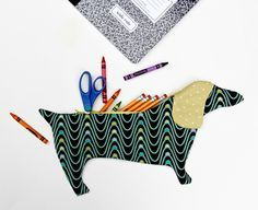 DIY Dachshund Pencil Pouch