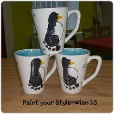 Fußabdrücke auf Keramik, Footprints, paint your own pottery, Keramik selber bemalen bei Paint your Style - Wien 15 http://www.paintyourstyle.de/at  wien15@paintyourstyle.at   FB: Paint your Style - Wien 15