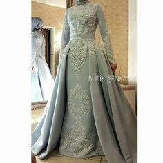 Muslim Wedding Dresses, Bridal Dresses, Muslim Prom Dress, Dress Brokat, Cocktail Outfit, Hijab Style, Weeding Dress, Gowns Of Elegance, Muslim Fashion