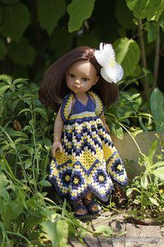 Дачная фотосессия с Кэролайн / Paola Reina, Antonio Juan и другие испанские куклы / Бэйбики. Куклы фото. Одежда для кукол