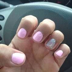 Pink Friday and Save Me from the Nicki Minaj collection. I LOVE THESE COLORS!! Could do It's Bouquet With Me from Sephora by OPI... LOVE!!