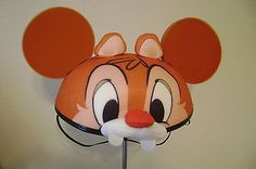 Chip n Dale 2 sided hat