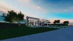 House Architecture Styles, Modern Villa Design, Modern Mansion, Luxury Modern House, House Front Design, Luxury Homes Dream Houses, Dream House Exterior, Modern House Plans, Modern Houses