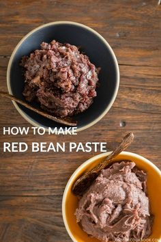 Pressure Cooker Anko (Sweet Red Bean Paste) | Easy Japanese Recipes at http://JustOneCookbook.com