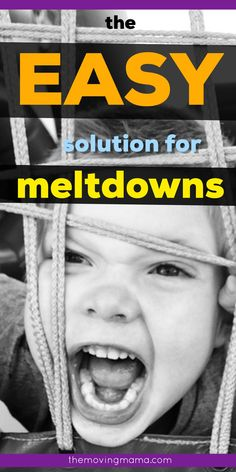 Toddler meltdowns don't have to break you down day after day. You can learn these EASY solution to conquer toddler tantrums without crushing your child's spirit. The terrible twos don't even have to feel so bad once you learn these easy tips for tantrums, and they work even with the most defiant toddlers. Toddler Behavior, Toddler Discipline, Positive Discipline, Gentle Parenting, Parenting Hacks, Terrible Twos, Make It Simple, Teaching, Feelings