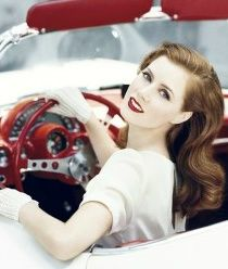 Amy Adams is the perfect pin up girl! Look Girl, Up Girl, Girl Car, Nice Girl, Amy Adams, Pin Up, Mode Vintage, Retro Vintage, Vintage Hair