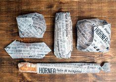 Desain Kreatif Kemasan Makanan - Eco-Packaging for Bakery Products oleh Vania Nedkova, Elisava Pack and Anna Gené Casellas Bakery Branding, Bakery Packaging, Food Packaging Design, Packaging Design Inspiration, Branding Design, Corporate Branding, Logo Branding, Branding Ideas, Packaging Ideas