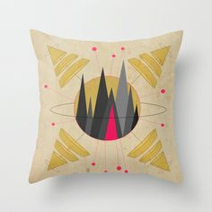 GET LOST Throw Pillow by AmDuf - $20.00
