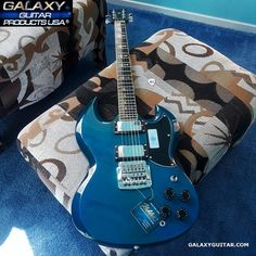 Galaxy Custom Shop F-24 Trans Starr Metal Warrior Sg Guitar, Guitar Rack, Unique Guitars, Guitar Accessories, Usa, Metal, Shopping, Products, Style