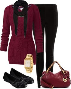 """""""Tunic and Leggings"""" by denise-schmeltzer on Polyvore"""
