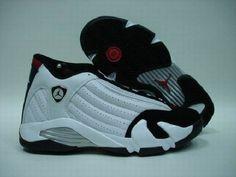 super popular ea863 ad600 Air Jordan 14 Retro white black varsity red metallic silver , Price   68.89  - Air Jordan Shoes, Michael Jordan Shoes