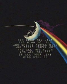 pink floyd - breathe. Pink floyd made me actually  value lyrics to songs