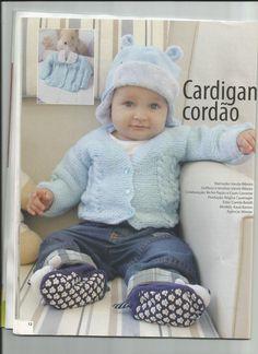 Artesanato diversão e prazer: Cassaquinho de bebê de trico com receita
