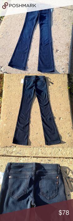 "NWT Genetic Denim Dark Wash Boot Cut Jeans Size 27 34"" Length. NWT! Genetic Denim Jeans Boot Cut"