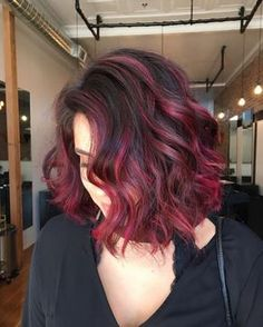 Dark brown to red ombre the beauty industry pinterest red 30 blushing burgundy ombre hair ideas ravishing in red hairstylezz urmus Gallery
