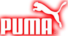 Puma logo using pictorial and wordmark.