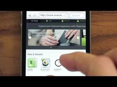 Watch our videos to learn more about using Evernote.   Evernote