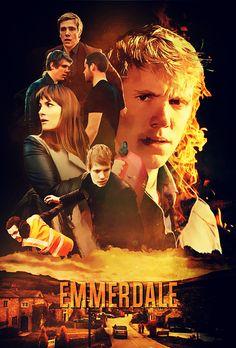 Emmerdale Fan Poster A - MEG #robron Aaron Livesy, Otp, Emmerdale Actors, Robert Ryan, Fan Poster, All Tv, Tv Soap, Music Tv, Fujoshi
