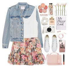 """""""2602. What's Your Power Look?"""" by chocolatepumma ❤ liked on Polyvore featuring Frame, Elizabeth and James, MINKPINK, Converse, Mark Cross, Casetify, Christian Dior, Dot & Bo, Lomography and Topshop"""