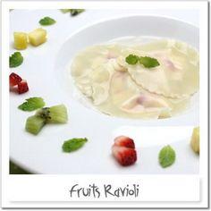 fruit ravioli