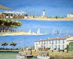 Exposition peinture - Philippe Deschamps - Artiste peintre sur l'Ile de Ré