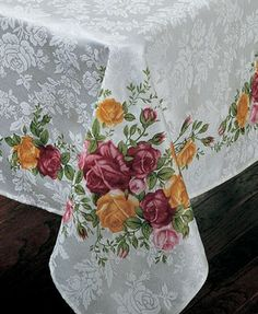 "Royal Albert Old Country | Royal Albert ""Old Country Roses"" Table Linens"