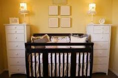 baby boy room ideas yellow wall - Google Search