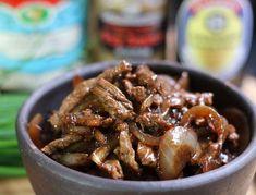 Boeuf sauté aux oignons, recette de cuisine chinoise