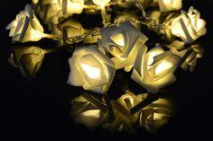 Łańcuch lampki LED - płatki róż Polandi