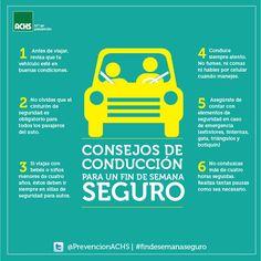 Si te vas de viaje este fin de semana, precaución al conducir #masprevencion #findesemanaseguro