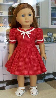Sweetheart Valentine dress  1944