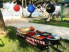 Cash's highly anticipated birthday Ninjago bash finally rolled around last week! While I sometimes opt to keep the birthday festivities . Karate Birthday, Lego Birthday, Birthday Parties, Birthday Ideas, Ninjago Party, Work Party, Paper Lanterns, Halloween Kids, Picnic