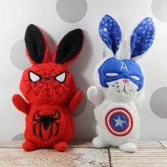Super hero bunny rab