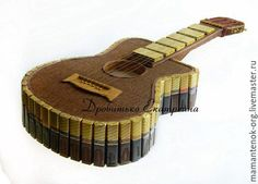Gifts for men, handmade.- Gifts for men, handmade. Buy Guitar from sweets. Candy guitar, gift to a friend - Christmas Gifts For Couples, Christmas Gift Baskets, Handmade Christmas Gifts, Tween Gifts, Diy Gifts, Chocolate Crafts, Chocolates, Edible Crafts, Wedding Gift Wrapping