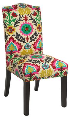 Donna Side Chair, Rose | Escape Without Leaving Home | One Kings Lane