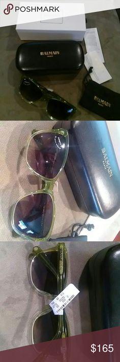 Balmain sunglasses NWT Balmain sunglasses. category 3, 100% uv protection.Sku 1623 8511 Balmain Accessories Sunglasses