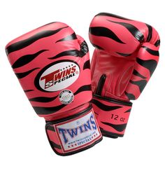 twins tiger boxing gloves. must have!