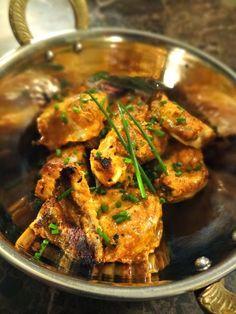 Scrumpdillyicious: Monkfish Tikka Paneer Kebabs with Gobi Mattar monkfish recipes Mattar Paneer Recipe, Paneer Recipes, Gf Recipes, Baby Food Recipes, Cooking Recipes, Lobster Recipes, Seafood Recipes, Healthy Indian Recipes, Ethnic Recipes