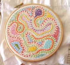 Randomwork embroidery | Flickr - Photo Sharing!