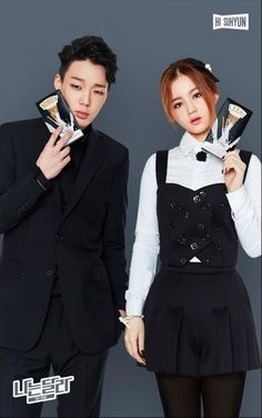 I ship this two they're so adorable,  Bobby + Lee Hi❤❤❤