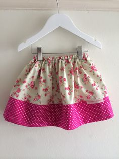 Handmade skirt by Minnie and Clarence
